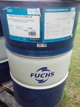 Fuchs 205 Litre unopened oil