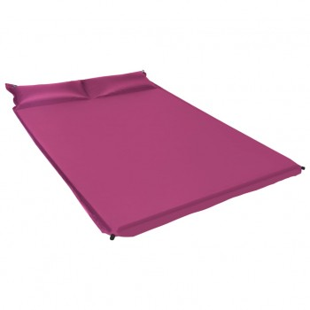 Inflatable Air Mattress with Pillow 130×