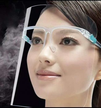 Anti-fog Face Shield with Glassses