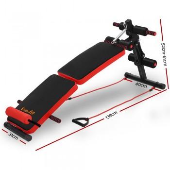 Everfit Adjustable Sit Up Bench Press We