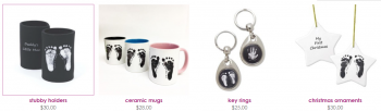 Get beautiful personalised baby gifts at