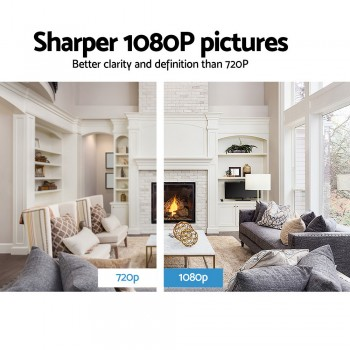 UL Tech 1080P WIreless IP Camera – Black