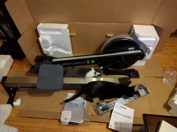 Concept 2 Model D Rower PM5 Rowing Machi