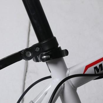 "29"" Mountain Bicycle White Racing Bike"