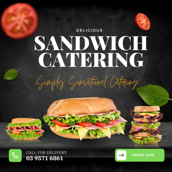 Freshly Made Sandwich Catering Service