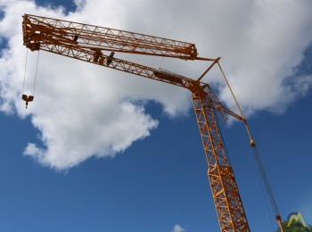 Luffing Jib Tower Crane Hire