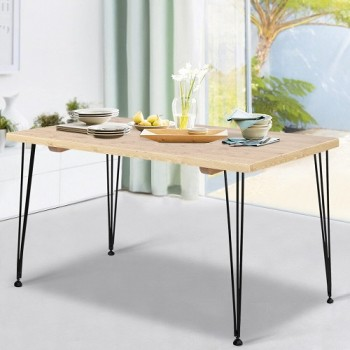 Artiss Dining Table 4 Seater 100 x 65cm