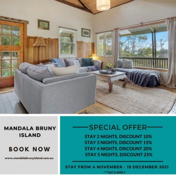 Holiday Deal on Bruny Island Vacations