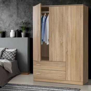 Artiss Wardrobe Bedroom Clothes Closet 3