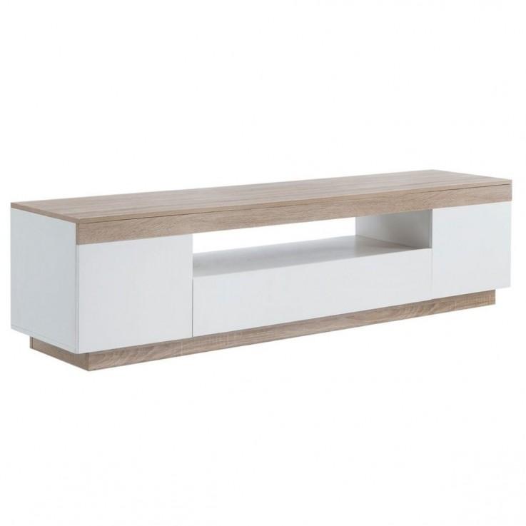 Ashley Coastal White Wooden TV Cabinet E
