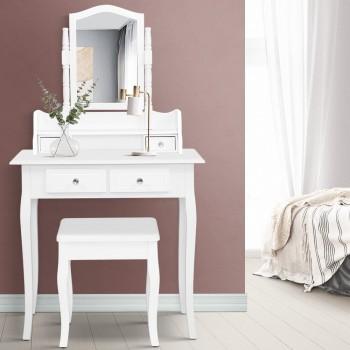 Dressing Table Stool Mirror Jewellery Ca