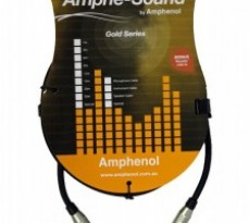 Amphenol TS – TS Jack 3m Instrument Cabl