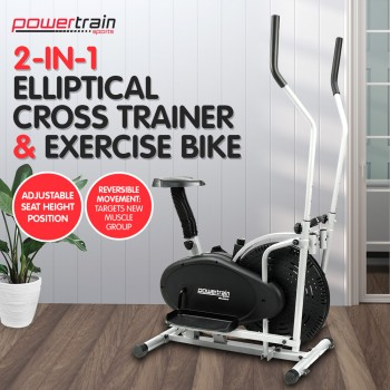 2-in-1 Elliptical Cross Trainer and Exer