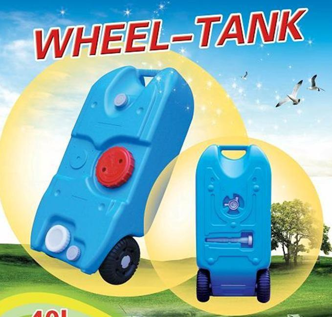 ANTENERGY Portable Wheel Water Tank 40L