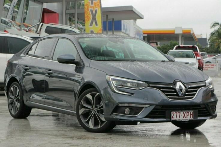 2017 Renault Megane Sedan Intens