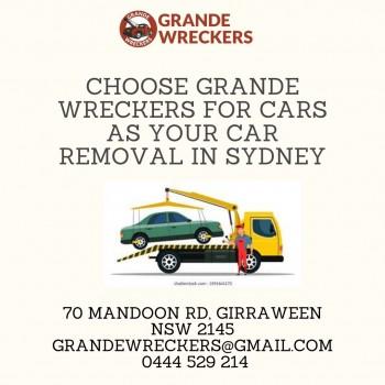 Want more money? Choose grande wreckers