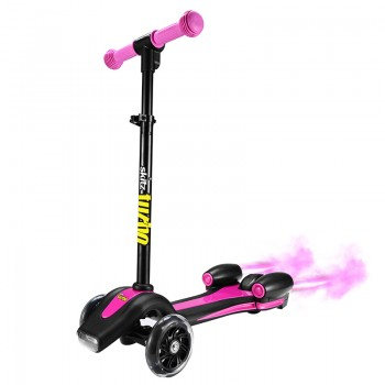 Go Skitz 3 Wheeler Turbo Scooter Pink