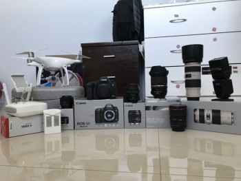 Canon 5D Mark III , Drone And Lenses