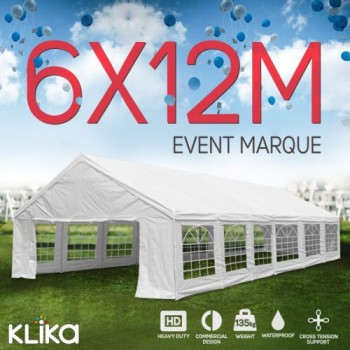 12m x 6m outdoor event marquee carport t