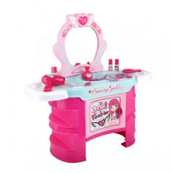 Keezi Kids Makeup Desk Play Set – Pink