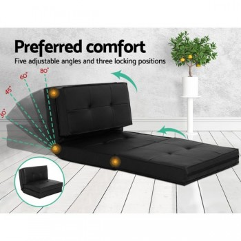 Artiss Lounge Sofa Floor Couch Recliner