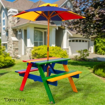 Keezi Kids Wooden Picnic Table