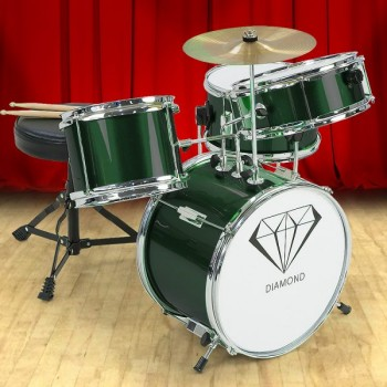 Children's 4pc Drumkit – Green