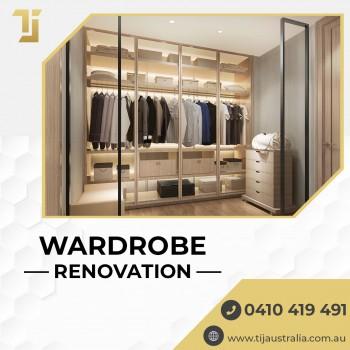 Modern Wardrobe Renovations Melbourne