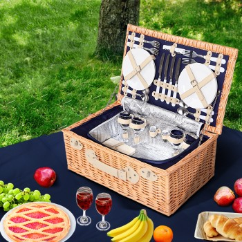 Alfresco 4 Person Picnic Basket Baskets
