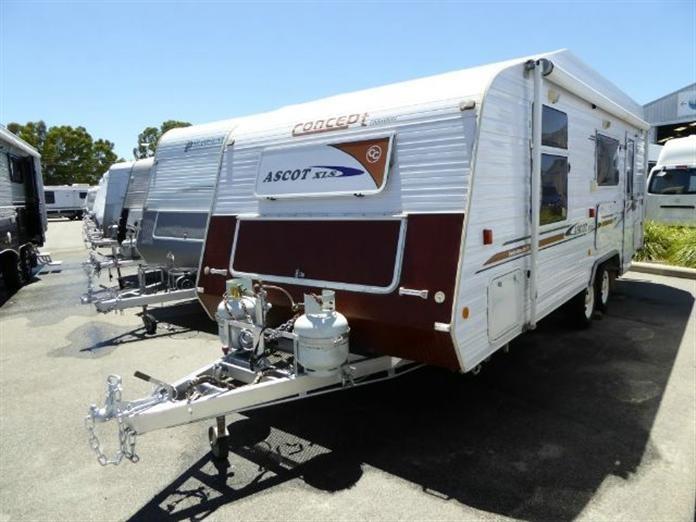 2008 CONCEPT ASCOT X L S 20 Caravan