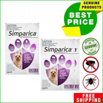 SIMPARICA Flea and Tick Treatment for Do