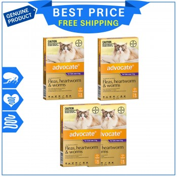 ADVOCATE Flea & worm Control for cats