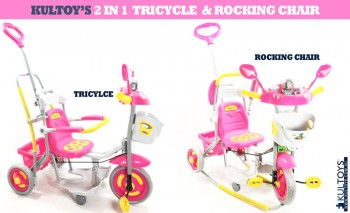 2 In 1 Tricycle And Rocking Chair