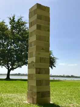 54 Piece Giant Jenjo Outdoor Wood Block