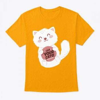 Love your cats T-shirt