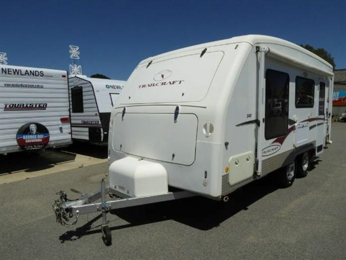 2007 TRAILCRAFT 540 DIRT ROAD CARAVAN