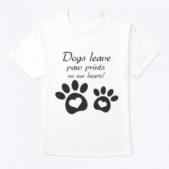 Dogs Paws T-shirt