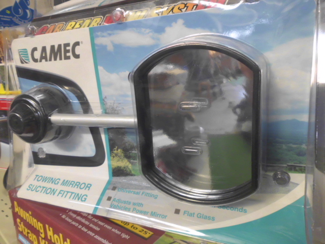Camec Suction Towing Mirror