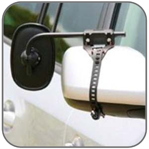 ORA ITALIAN CLIP-ON TOWING MIRROR