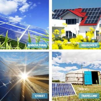 12V 60W Solar Panel Kit Home Generator
