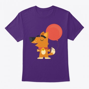 Dog Holding a balloon Tee