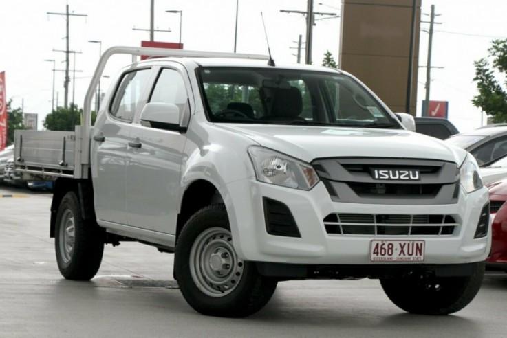 2017 Isuzu UTE D-MAX 4x4 SX Crew Cab Cha