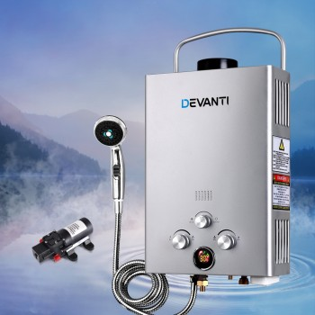 DEVANTi Outdoor Portable Gas WaterHeater