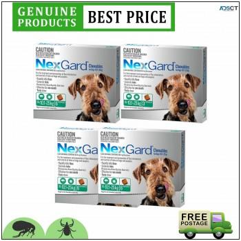 Nexgard Flea & Tick Protection For Dogs