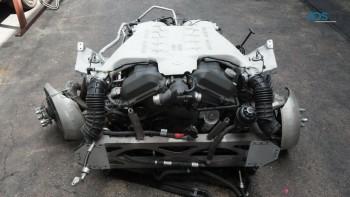 Aston Martin DBS Coupe 6.0L V12 Engine