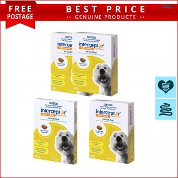 INTERCEPTOR Heartworm Control for Dogs