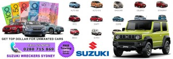 Get Instant Cash For Used Suzuki Cars Sy