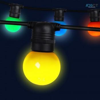 Jingle Jollys 41m LED Festoon String