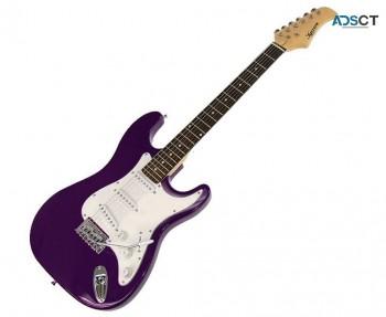 Karrera 39in Electric Guitar – Purple