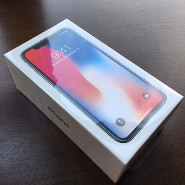 Brand new orginal Apple iPhone X 256GB